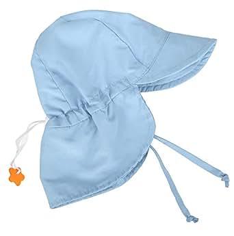 Jasmine Baby Flap Hat UPF 50+ UV Sun Protection Sun Hat w/Neck Flap,2-4 Years