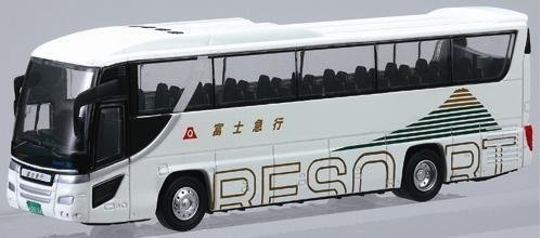 1/80 富士急行 (ホワイト) 「フェイスフルバスシリーズ No.3」