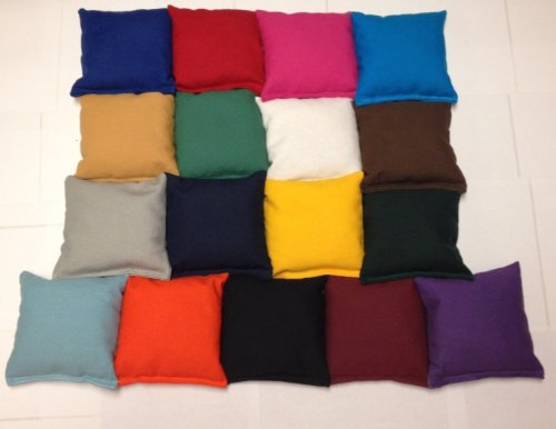 Regulation Cornhole Bags 17 COLORS Handmade Top Quality Expedited Shipping! By Johnson Enterprise, LLC