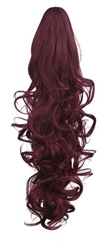 SARLA 1pc Dual Use natural Curly ponytail 20