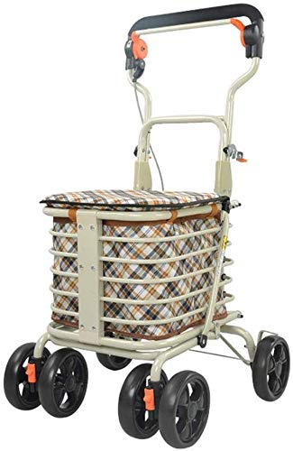 WYJW Carrito de supermercado Carrito de Andador Ligero Roller ...