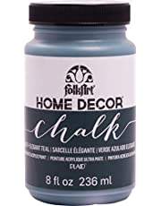 FolkArt 34177 Home Decor Chalk Furniture & Craft Paint in Assorted Colors, 8 ounce, Elegant Teal