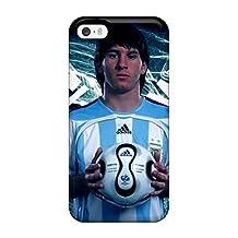 Unique Design Iphone 5/5s Durable Tpu Case Cover Lionel Messi T Shirt
