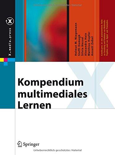 Kompendium multimediales Lernen (X.media.press) Gebundenes Buch – 3. Januar 2008 Helmut M. Niegemann Steffi Domagk Silvia Hessel Alexandra Hein