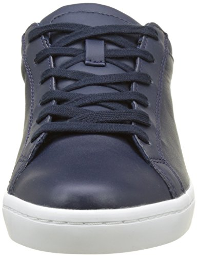 Lacoste Straightset Bl 1 Spw Nvy, Entrenadores Bajos para Mujer Azul (Nvy)