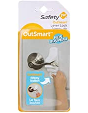 Safety 1st HS2890300 Outsmart Lever Handle Lock, White, 1 Pack