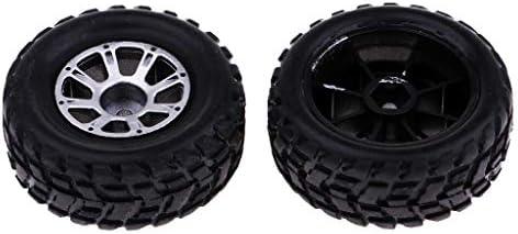 2個 RCカータイヤ ホイール 1/18 WLtoys A949適用