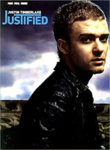 Justified Pianovocalchords Justin Timberlake 0654979058908