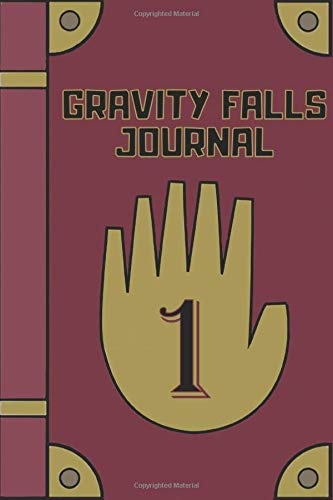 Gravity Falls Journal Fan edition diary filled with beautiful mandala patterned blank lined pages | 147 Pages | Perfect for people who loves watching gravity falls