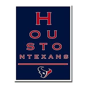 """Houston Texans EYE 12x16"""" Poster Print Wall Art Décor"""