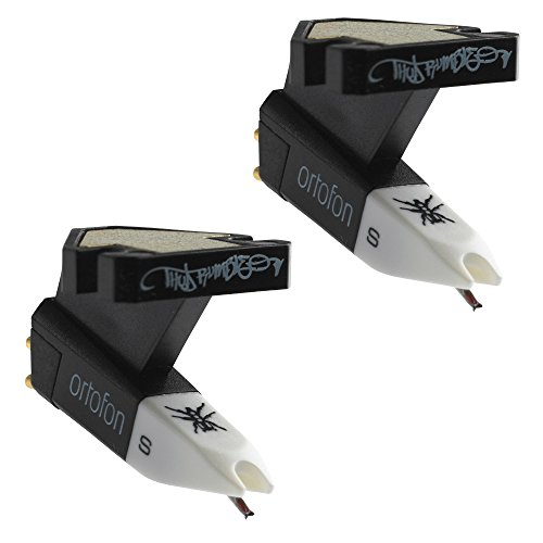 Ortofon OM Q.Bert Single Cartridges with Attached Stylus (2-pack)