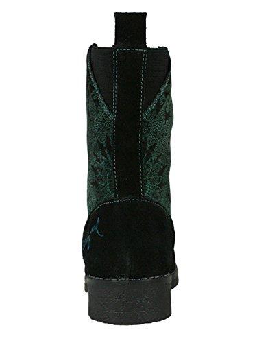 DESIGUAL Damen Designer Top Stiefel Biker Boots Schuhe - MAS MAS - D5f4h