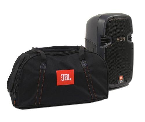 JBL Carry Bag Fits (1x) EON P210 Speakers - Black (EONP210BAGDLX-1) -  Gator Cases, EON210PBAGDLX-1