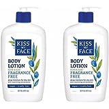Kiss My Face Olive & Aloe Fragrance Free Body Lotion