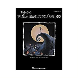 Tim Burtons The Nightmare Before Christmas Songbook: P/V/G (Piano Vocal Series)
