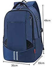 Unisex School Bags Waterproof, Gifts for Boys Girls Teenagers, Backpack for Men and Women Lightweight School Bag, for Travel, Sports, Hiking