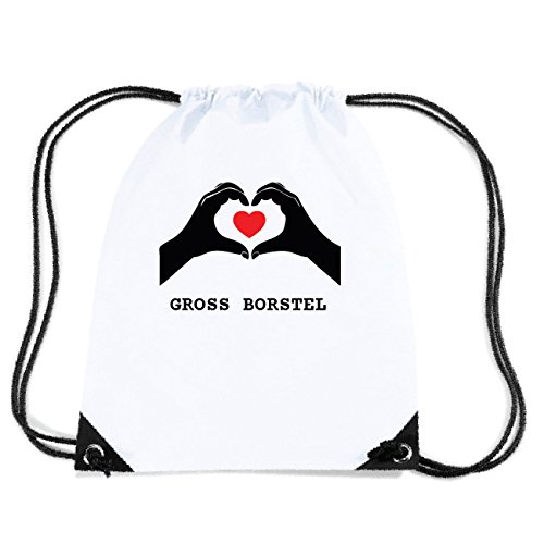 JOllify GROSS BORSTEL Turnbeutel Tasche GYM102 Design: Hände Herz