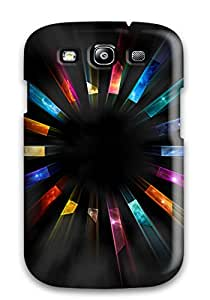 New Arrival Cover Case With Nice Design For Galaxy S3- Blackberry