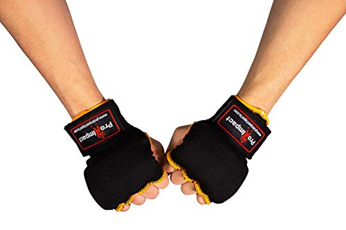 Pro Impact Boxing MMA Men & Women Kickboxing Muay Thai Quick Knuckle Wrist Wrap Protector Handwraps