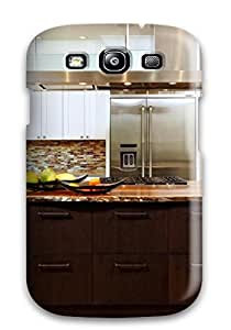 ZippyDoritEduard Perfect Tpu Case For Galaxy S3/ Anti-scratch Protector Case (rustic Contemporary Kitchen)
