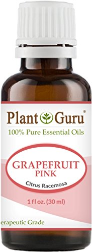 PInk Grapefruit Essential Oil 1 oz / 30 ml 100% Pure Undiluted Therapeutic Grade Cold Pressed From Fresh Grapefruit Peel, Great for Aromatherapy Diffuser, Relaxation and Calming, Natural Cleaner.