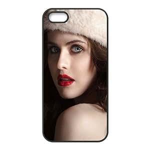 Celebrities Cute Alexandra Daddario iPhone 5 5s Cell Phone Case Black phone component RT_426600