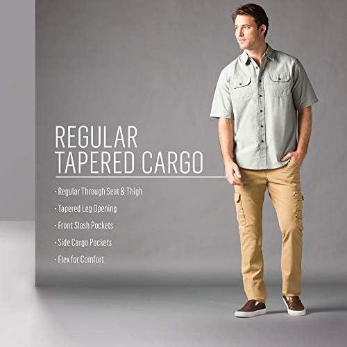 Wrangler Men's Regular Tapered Cargo