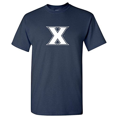 UGP Campus Apparel Xavier Primary Logo T-Shirt - Medium - Navy ()