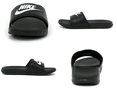 Benassi white Nero Uomo black Ciabatte Nike Jdi gdwfqBBv
