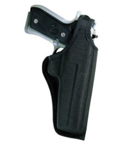 Bianchi Accumold Black Holster 7001 Thumbsnap - Size 10A Glock 26, 27 (Right Hand) - Accumold Defender Holster