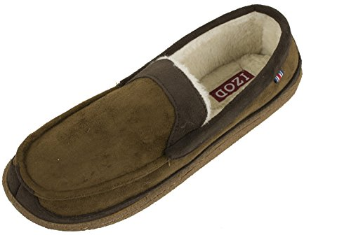 IZOD Classic Two-Tone Moccasin Slipper