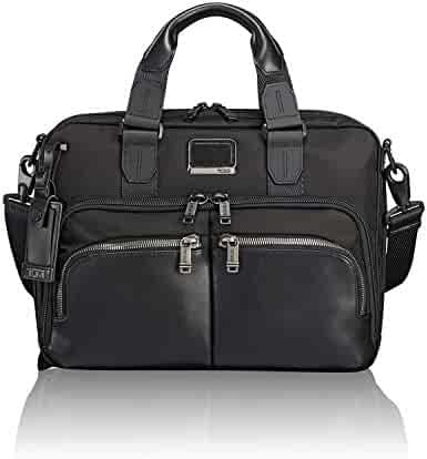 TUMI - Alpha Bravo Albany Laptop Slim Commuter Brief Briefcase - 14 Inch Computer Bag for Men and Women - Black