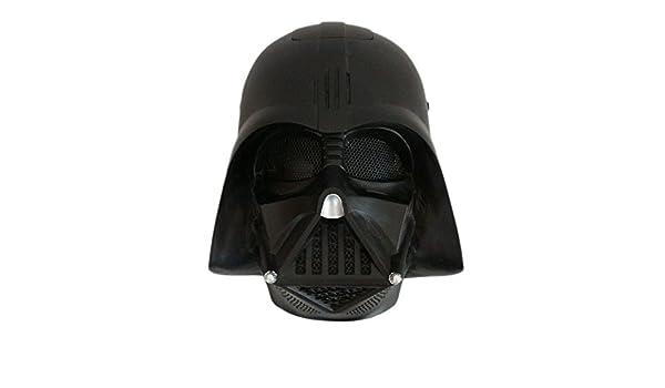 La Guerra De Las Galaxias Darth Vader Máscara De Cine Disfraz De Estrella De La Muerte Adulto La Fuerza Despierta Disfraz Facial Oscuro ...