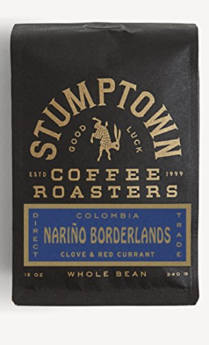 STUMPTOWN Coffee Roasters - Colombia Nariño Borderlands - Whole Bean - Direct Trade, 12 oz Roasted in Small Batch in Los Angeles, California