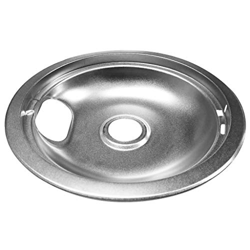 - LOVIVER Large 8'' Chrome Drip Pan Replacement