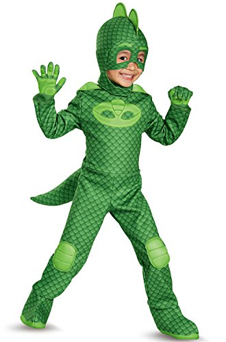 Toddler Costumes Fancy Dress Halloween Green Gecko Costume (Large Image)