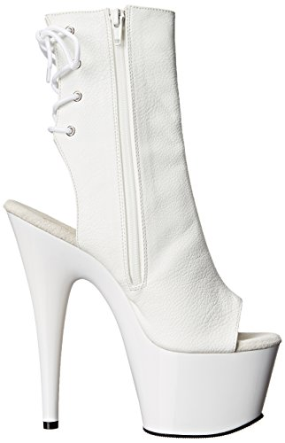 PleaserAdore - Botas Mujer Blanco - blanco (blanco Mat)