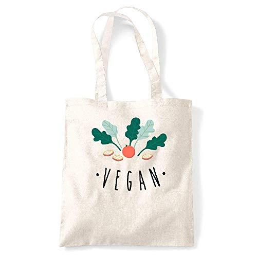 Creme blanc Coton Tote kase My fond Naturel vegan Gs Tshirt 7S8W0nWZ
