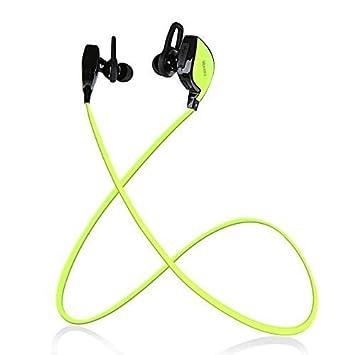 RAGU Auriculares Inalámbricos Bluetooth 4.1 a Prueba de Sudor Jogging Cascos Auriculares Estéreo Botones con Aptx, Mic, Supresión de Ruido para Smartphone ...