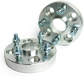 """Wheel Adapters Spacers 4x100 12x1.5 Studs 54.1mm CB Hub Centric 1/"""" 25mm"""