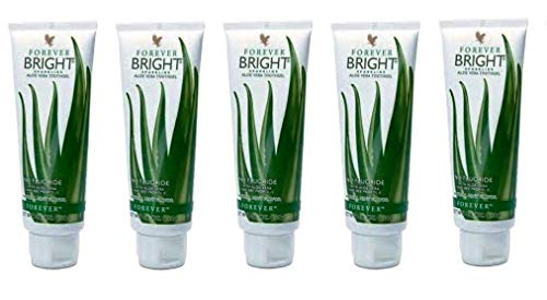 Forever Living Bright Toothgel, 4.6 oz, Natural Mint Flavor, Pack of ()