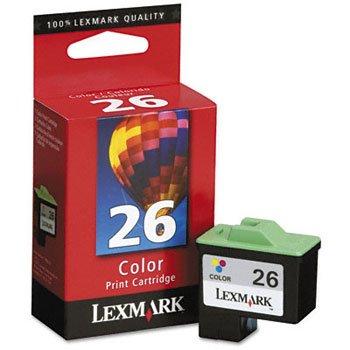 Lexmark International LEX10N0026 Inkjet Cartridge- 275 Page Yield- Color by Lexmark