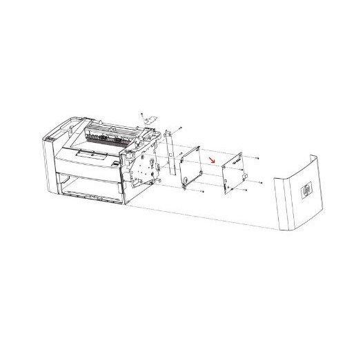 - HP CD644-67914 Secondary transfer roller