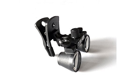 Doc.Royal Surgical Medical Binocular Clip Loupes Lab Head Magnifier w/Clip-on 2.5X420mm DY-109 by Doc.Royal (Image #3)