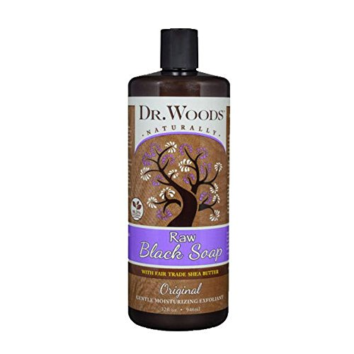 Dr Woods Baby Mild Castile Soap with Fair Trade Shea Butter Unscented 32 fl oz 946 ml