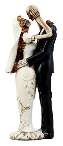 Ebros Gift Day of The Dead Eternal Wedding Skeleton Bride & Groom Lovers Figurine 11.25