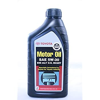 toyota genuine motor oil sae 5w30 oil 1 quart. Black Bedroom Furniture Sets. Home Design Ideas