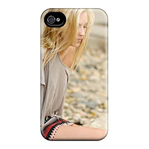 Premium [aYd3558qZTo]blonde Beach T Shirt Case For Iphone 4/4s- Eco-friendly Packaging