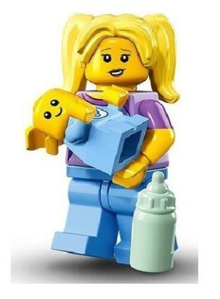 LEGO Town City Fun in the Park Minifigure - Baby and Pushchair ...