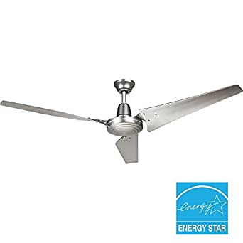 """Industrial 60 In. Brushed Stee 26.6""""h x 60""""w x 60"""" Brushed Nickel"""